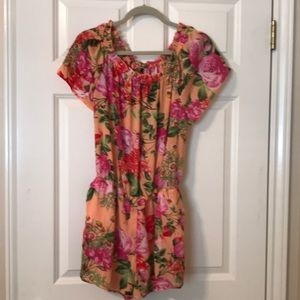 Smell the Roses Romper.